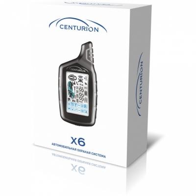 Автосигнализация CENTURION X6