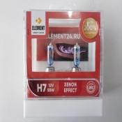 лампы галогенные ELEMENT +200% Xenon Effect H7