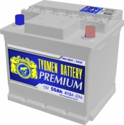 Аккумулятор Тюмень PREMIUM (Ca/Ca) 6СТ-50L