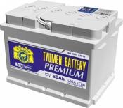 Аккумулятор Тюмень PREMIUM (Ca/Ca) 6СТ-60LA
