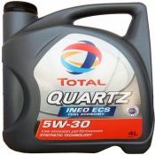 Моторное масло Total Quartz Ineo ECS 5W30 4л.