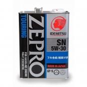 Моторное масло IDEMITSU ZEPRO TOURING 5W-30, 4л